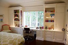 Bedroom wall unit traditional-bedroom