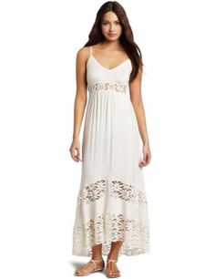 Testament Women's Maxi Tiered Lace Dress