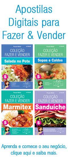 Faça e Venda Sanduíche Natural - Cozinha do Quintal