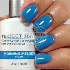 gelish up in the blue swatch soak off gel polish