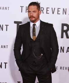 THAS-Tom Hardy Argentina Station • The Revenant | Premiere (Photocall) LA California,...