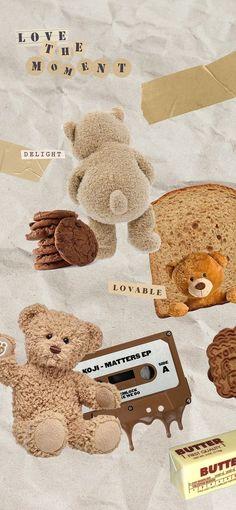 Cute Pastel Wallpaper, Soft Wallpaper, Cute Wallpaper For Phone, Bear Wallpaper, Cute Patterns Wallpaper, Kawaii Wallpaper, Cute Wallpaper Backgrounds, Tumblr Wallpaper, Cute Cartoon Wallpapers