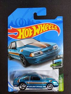 Brand new 92 Ford Mustang Super Treasure Hunt Hot Wheels Treasure Hunt, Super Treasure Hunt, Hot Wheels Cars, Hot Cars, Ford Mustang, Voitures Hot Wheels, Mario Kart Characters, Playmobil City, Scooby Doo