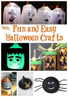 fun and easy halloween crafts