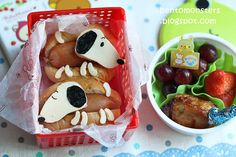Snoopy Hot Dog Bento