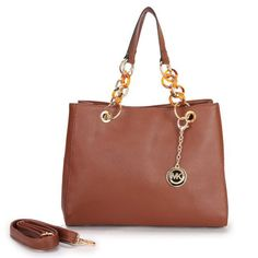 Michael Kors Cynthia Saffiano Large Tan Satchels Outlet