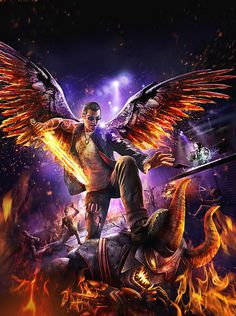 Saints Row: Gat out of Hell Descends onto PS4, PS3 Next Week - http://videogamedemons.com/news/saints-row-gat-out-of-hell-descends-onto-ps4-ps3-next-week/