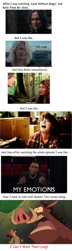 It's funny, because this is exactly what happened, but for the season 2 finale :)