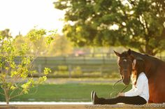 Every horse deserves to be loved by a girl... ♥
