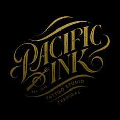 Pacific Ink logo mark on Behance