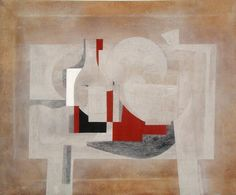 Check out this mid century abstract master! Contemporary Abstract Art, Modern Art, Carlos Merida, Textiles Sketchbook, A Level Art, Abstract Painters, Architecture Drawings, Collage, Artist At Work