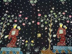 Indonesian batik arts