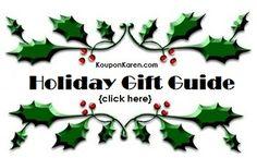 Karen's 2013 Holiday Gift Guide Begins November 1, 2013