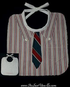 Reycyled shirt and tie