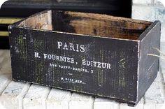 Diy - Vintage Crate!