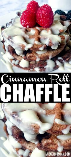 Low Carb Breakfast Recipes – The Keto Diet Recipe Cafe - Cinnamon Roll Keto C. - Low Carb Breakfast Recipes – The Keto Diet Recipe Cafe – Cinnamon Roll Keto Chaffles. Keto Foods, Ketogenic Recipes, Keto Snacks, Paleo Diet, Keto Meal, Low Carb Desserts, Low Carb Recipes, Protein Recipes, Waffle Desserts