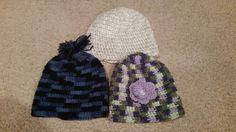 Multi colored hats