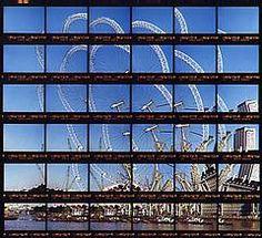"""Thomas Kellner: 14#04 London, Ferris Wheel, 1999, C-Print, 22,8x21,0 cm/8,9""""x8,2"""", edition 10+3"""