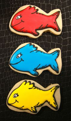 One Fish Two Fish Dr Seuss inspired fish by AllThingsExquisite, $25.00