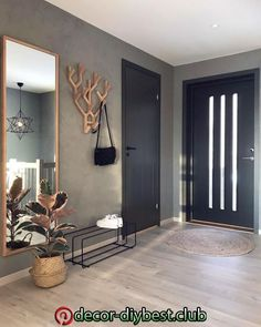 7882 Likes 102 Comments Malene Foss ( Entryway and Hallway Decorating Ideas Comments concrete Fos Foss husefjel Likes Malene Interior Design Living Room, Living Room Designs, Living Room Decor, Bedroom Decor, Decor Room, Home Decor, Interior Door, Interior Modern, Interior Architecture