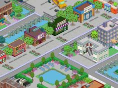 Electronic Arts is a leading publisher of games on Console, PC and Mobile. Simpsons Springfield, Springfield Tapped Out, Springfield Heights, The Simpsons Game, Abandoned Train, Train Tracks, Electronic Art, Sims, Clash Of Clans