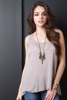 Relaxed Slub Tank Top