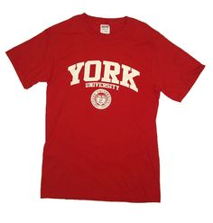 An essential to living. York University, Dorm Decorations, Essentials, Mens Tops, T Shirt, Shopping, Supreme T Shirt, Tee Shirt, Tee