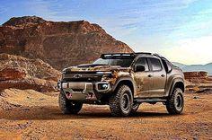 Fuel cell electric Chevy Colorado