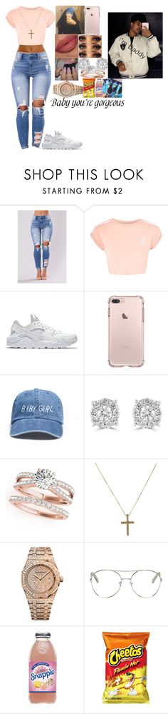 """Treats from bae"" by epicgoddess ❤ liked on Polyvore featuring Topshop, NIKE, Effy Jewelry, Audemars Piguet, Chloé and Louis Vuitton"