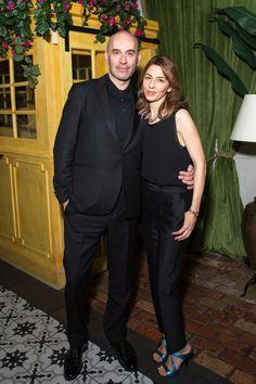 Fabrizio Viti and Sofia Coppola