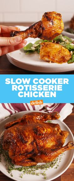Slow-Cooker Rotisserie ChickenDelish