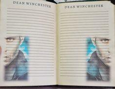 Supernatural Handmade : Supernatural notebook/Блокнот
