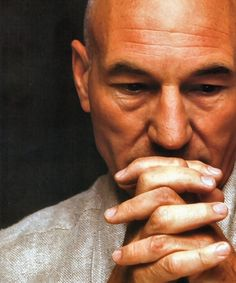 Patrick Stewart. Been a fan since I was little. He'll always be Captain Picard to me :)