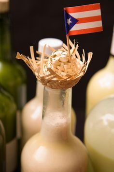 Coquito! My great-grandmother used to make this every Christmas with a whole bottle of 151 Bacardí Rum