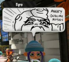 See more 'Splatoon' images on Know Your Meme! Splatoon Memes, Splatoon 2 Art, Splatoon Comics, Video Game Memes, Video Games Funny, Funny Games, Splat Tim, Pearl And Marina, Super Smash Bros Memes