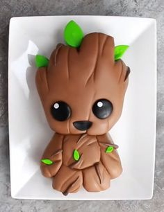 pinterest || ? @kellylovesosa ?Baby Groot cake (Fun Cakes Disney) https://pagez.com/4136/36-rickdiculous-rick-and-morty-facts
