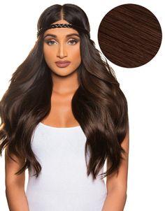 "KHALEESI 280g 20"" Dark Brown (2) Hair Extensions"