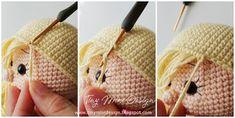 Tiny Mini Design: Amigurumi Tarifler-Free Patterns - Crochet dolls and clothes 2 - Lol dolls Knitting Blogs, Knitting For Kids, Baby Knitting Patterns, Crochet Patterns, Free Knitting, Crochet Amigurumi, Amigurumi Doll, Crochet Dolls, Amigurumi Patterns