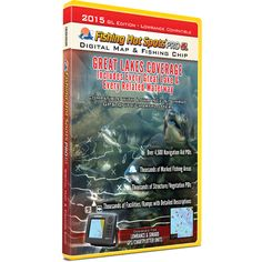 Fishing Hot Spots Pro GL Fishing Chip - Great Lakes Coverage 2015 - https://www.boatpartsforless.com/shop/fishing-hot-spots-pro-gl-fishing-chip-great-lakes-coverage-2015/