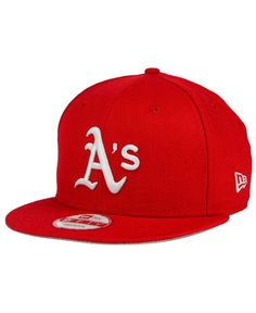 New Era Oakland Athletics C-Dub 9FIFTY Snapback Cap Men - Sports Fan Shop  By Lids - Macy s f2d988b8976