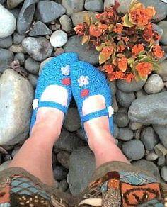crochet pattern for slippers