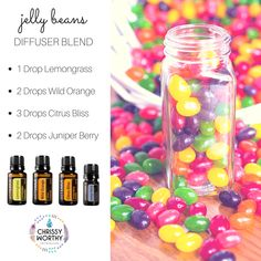 Jelly bean diffuser blend by Chrissy Worthy