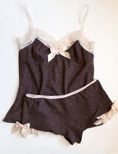 sweater knit sleep set <3