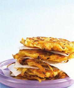 Möhren-Kartoffel-Rösti - [ESSEN UND TRINKEN]