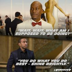 Furious Roman & Tej (Tyrese & Ludacris) - Game Of Thrones // Games and Movies World // Welcome Fast And Furious Memes, Movie Fast And Furious, Furious Movie, The Furious, Michelle Rodriguez, Vin Diesel, Gal Gadot, Dom And Letty, Dominic Toretto