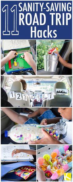 11 Sanity-Saving Road Trip Hacks