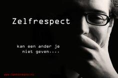 Zelfrespect www.lekkermens.nu