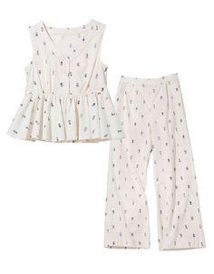 Cute Sleepwear, Cotton Sleepwear, Sleepwear Women, Pajama Outfits, Kids Outfits, Pyjamas, Night Suit For Women, Pijamas Women, Cute Pajamas