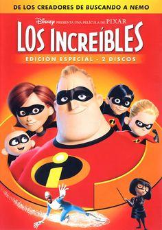 LOS INCREÍBLES (2004). Una familia de superhéroes casi retirados, algo entraditos en años y kilos, que tratan de sobrevivir en la dura vida diaria, son obligados a volver a la acción... simplemente para salvar al mundo. DVD en la biblioteca.