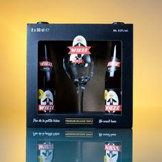 Gift box 2x 33cl Wieze Triple + tasting glass